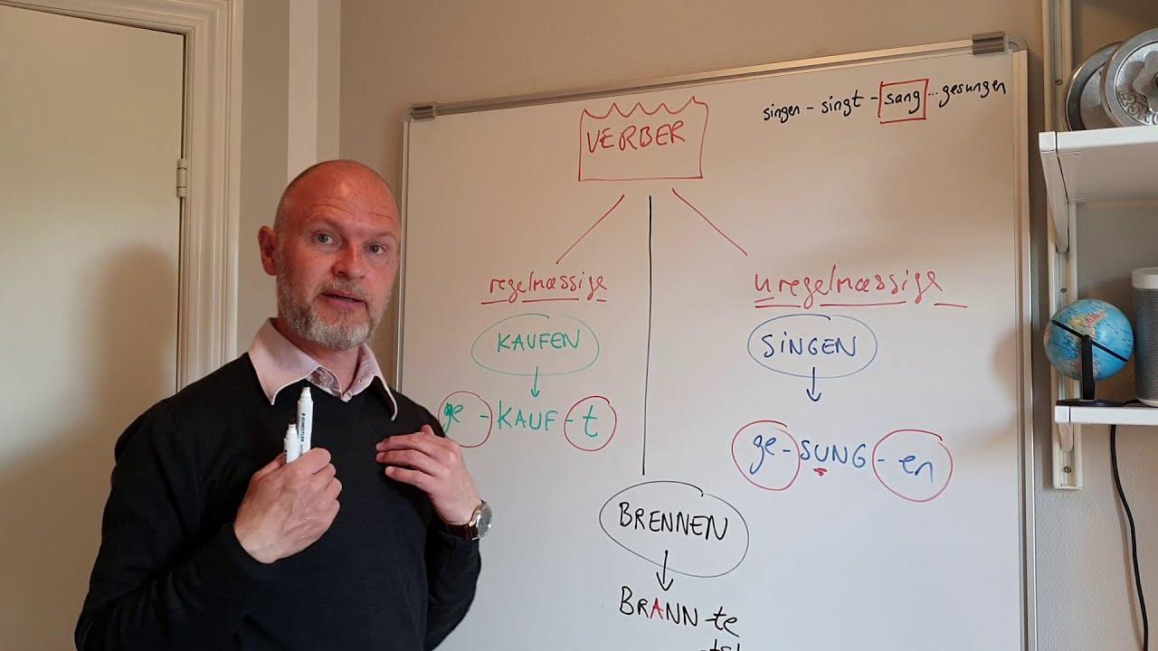 JS-TYSK (Grammatik) - VERBER (de