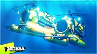 UNDERWATER SUBMARINE RACE! (GTA 5)