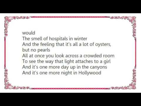 Counting Crows - A Long December Lyrics