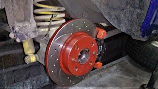 видео Установка задних дисковых тормозов на ВАЗ 2107 (ЗДТ)