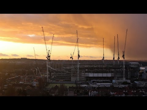New Spurs Stadium HD Time Lapse - 11th to 17th February 2018