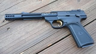 Browning Buckmark .22 with the Tactical Solutions Barrel. thumbnail