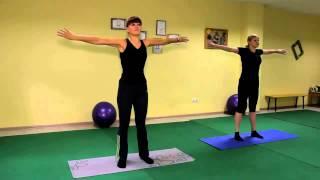 Оксисайз упражнение для рук и груди, растяжка. Видео урок онлайн.