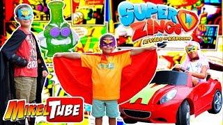 Heroe o Villano? Super Zings Serie 2 en MikelTube
