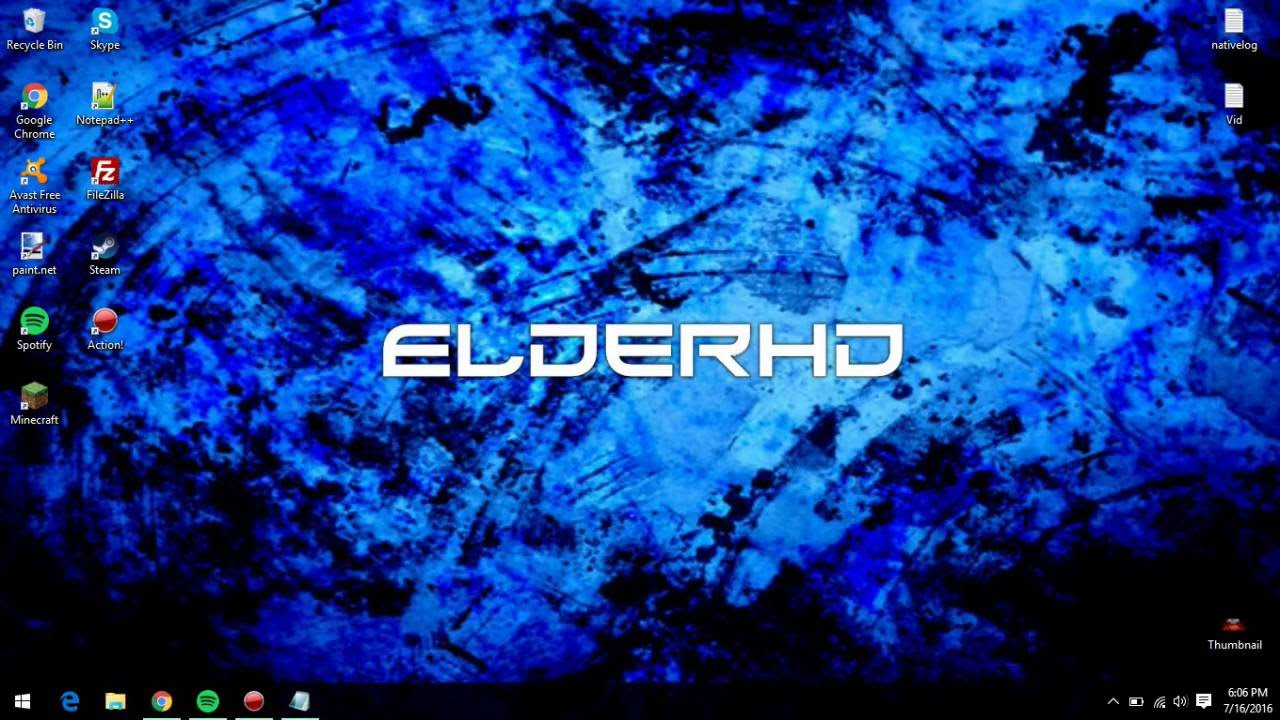 How To Make A Windows Wallpaper Clear And Not Blurry Tutorial ElderHD