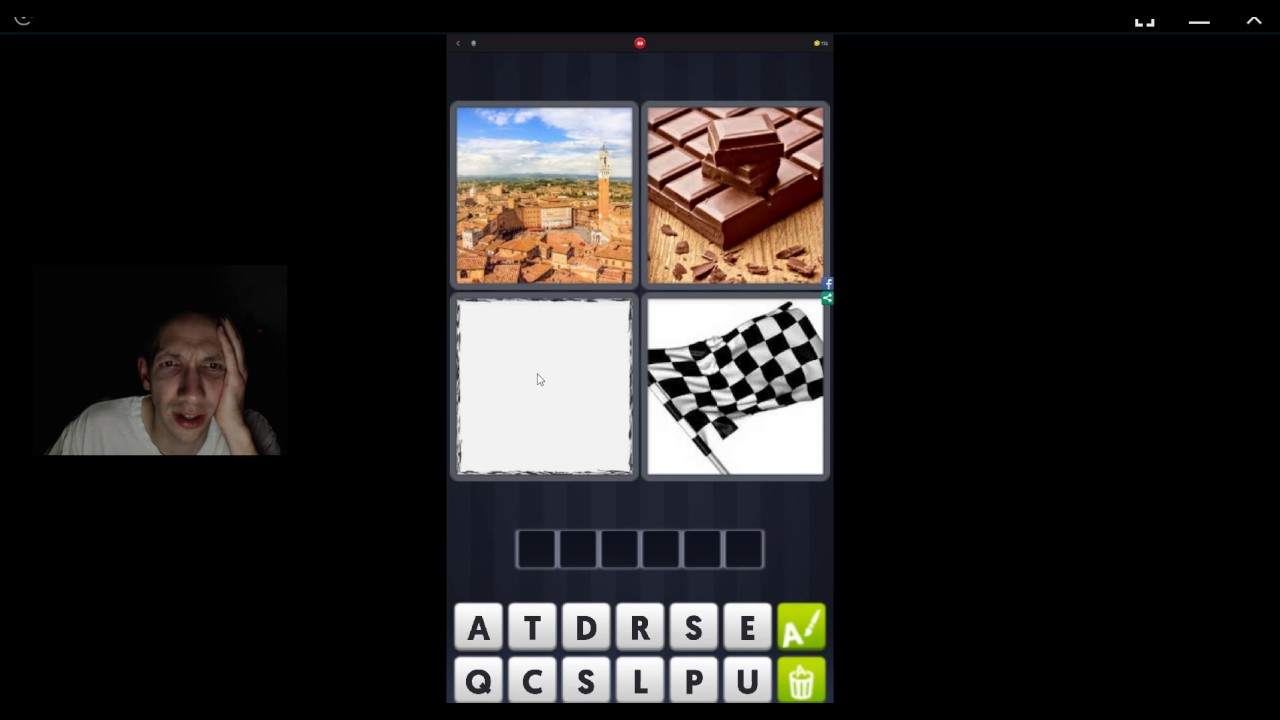4 Pics 1 Word Answers 6 Letters Chocolate Flag Invisite