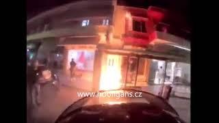 Gate 13 (Panathinaikos) attacked fan shop Gate 7 (Olympiakos) 24.04.2020