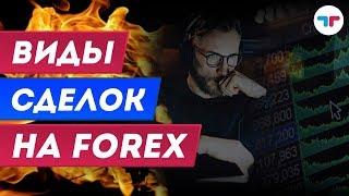 TелеТрейд Обучение Форекс : Урок 8 - Виды сделок на Forex