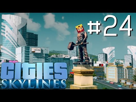 Cities Skylines Let's Play: Part 24 ►All The Unique Buildings◄ (Gameplay & Tutorial 1080p 60fps)