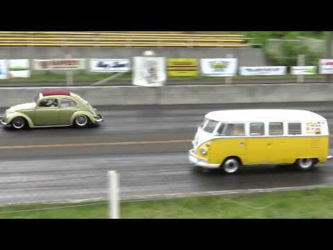 VW Drag In 5th Mr.Shirasawa 1965 TYPE-2 AMBULANCE