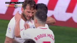 Franco Vazquez goal vs Real Betis HD