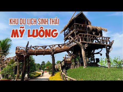 Khu du lịch sinh thái Mỹ Luông (Chợ Mới) Mở cửa đón khách tham quan vào 7/2/2021 - Tết Tân Sửu
