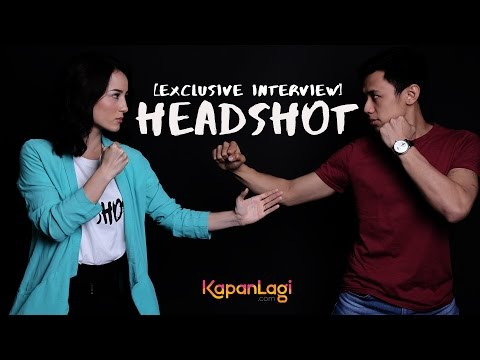 Wawancara Eksklusif Film HEADSHOT: Julie Estelle & David Hendrawan