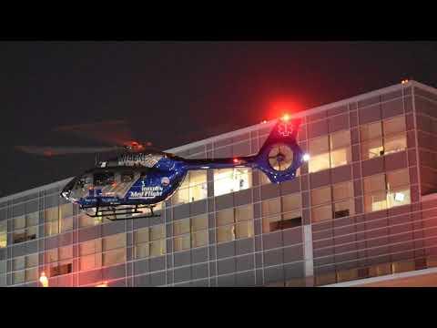 Boston Medflight Landing At RIH