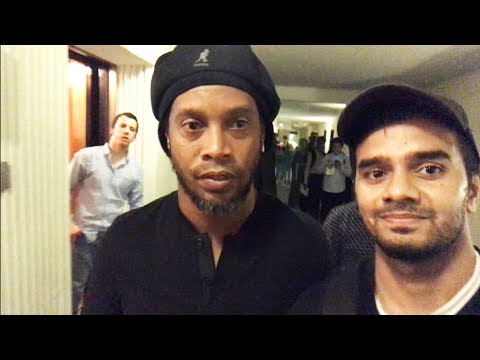 RONALDINHO AND FRIENDS in LAHORE