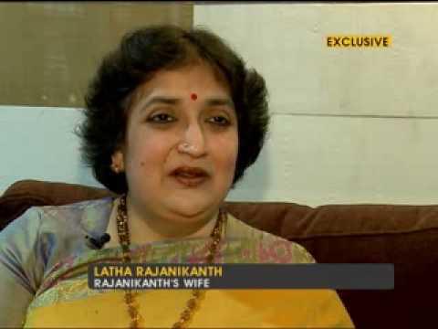 Rajnikanth's wife Latha speaks about the star