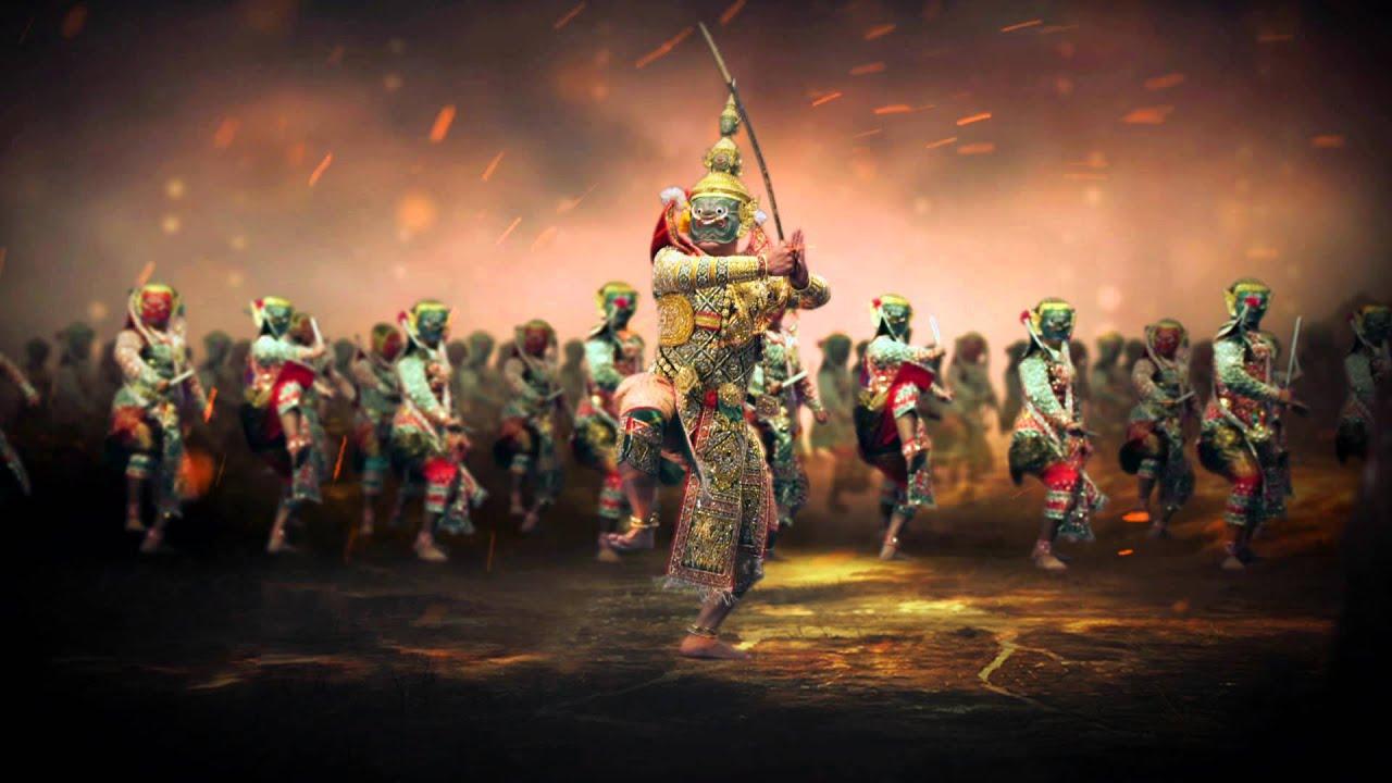 3d Dance Wallpaper Khon Hanuman Show Trailer V 2 00 2 Sec Youtube
