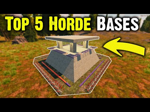 Top 5 Best Horde Night Base Builds 7 Days To Die Alpha 18.4