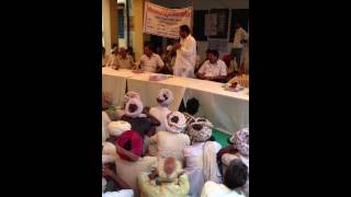 Ram Lal Jat- MLA Bhilwara - addressing people of Chandrash