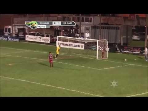 Rio Claro Futebol Clube x Velo 17/02/2013 gol rodrigo ninja derby 2013