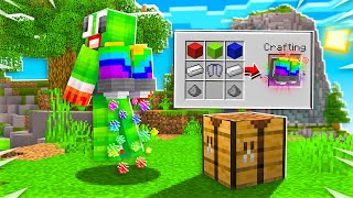 HOW TO CRAFT A RAINBOW JETPACK IN MINECRAFT!