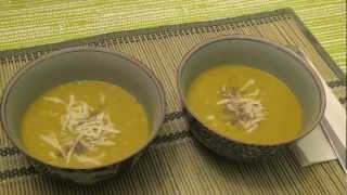 Just In Time For Holloween 2012 - How To Cook Squash Soup With Dill [recipe]