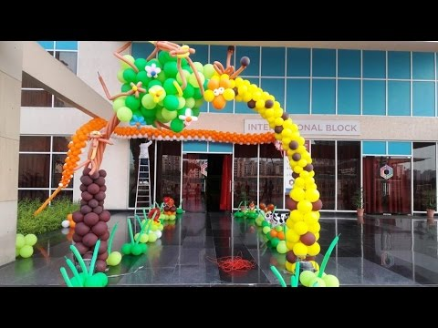 Jungle Themed Birthday Party Decoration Top Birthday Party
