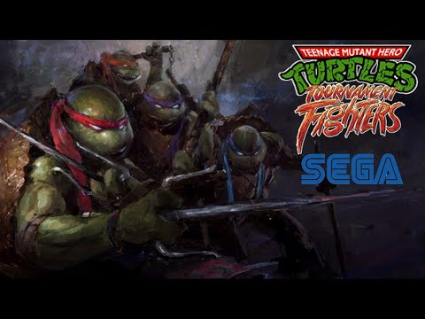Teenage Mutant Ninja Turtles Tournament Fighters Часть 2 (SEGA) [Неделя черепашек-ниндзя]