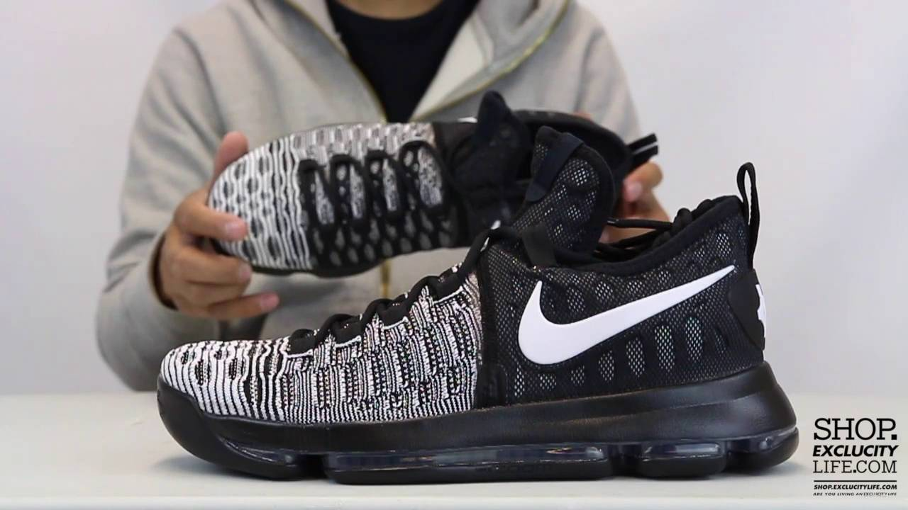 47a76a5755a ... reduced nike kd 9 oreo unboxing video at exclucity youtube b4b1d 32057