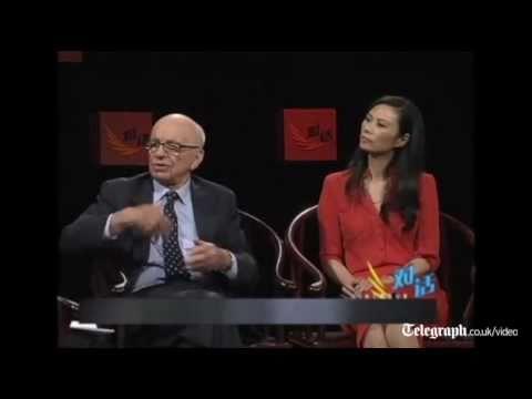 Rupert Murdoch: my wife Wendi is 'very tough'