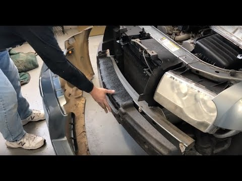 How To Remove / Install Your 2005-2010 Chrysler 300 Front Bumper Assembly
