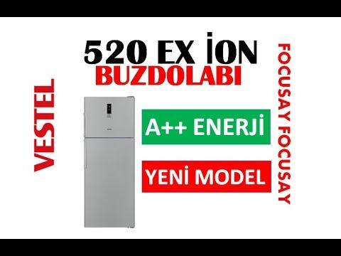 VESTEL 520 LT A++ İON NO-FROST BUZDOLABI-YENİ
