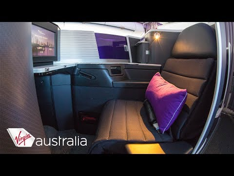 """Virgin Australia Airbus A330 """"the business"""" Business Class Sydney-Perth"""