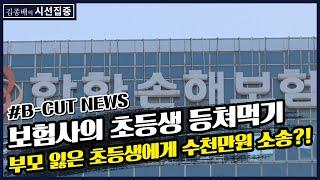 [김종배의 시선집중][B-CUT NEWS] 고아 아동에게 수천만원 소송 건 보험사?! - 이종훈 (작가)