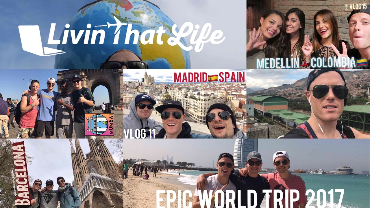 5 COUNTRIES in 5 MINUTES ✈️  Thailand, India, Dubai, Spain, Colombia – 20 Daily Travel Vlogs!