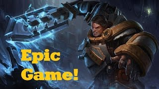 Crazy Game! Garen VS Teemo Ranked - League of Legends Live Commentary