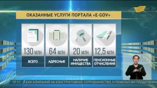 Электронному порталу «egov.kz» - 10 лет(А вот снизить риск коррупции позволяет портал электронного правительства. Ему уже 10 лет, за это время прове..., 2016-04-12T12:18:31.000Z)