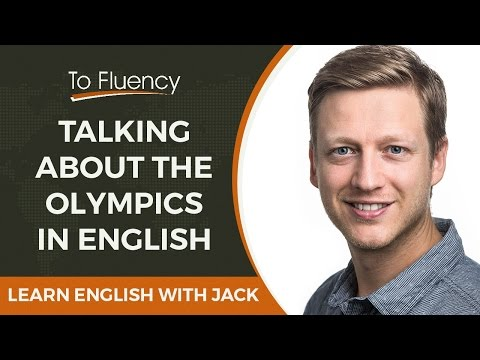 Talking About the Olympics in English (Live Lesson)