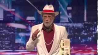 AGT - 77yr old rapper kills it - What You Gonna do
