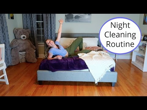Clean My Room with Me! My Before Bed Cleaning Routine