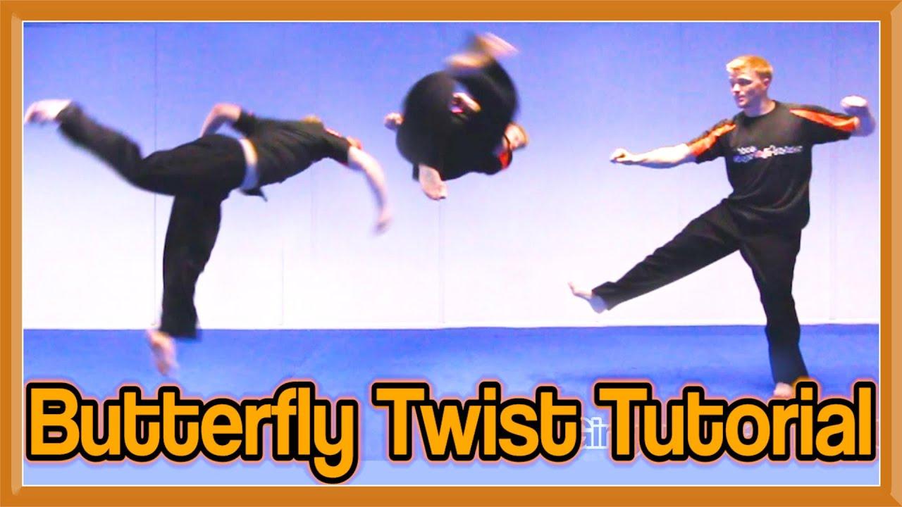 Butterfly twist tutorial b twist gnt how to youtube for Www b b it