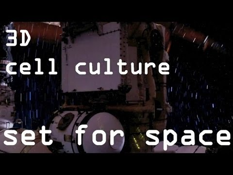 3D Cell Culture Set For Space HD
