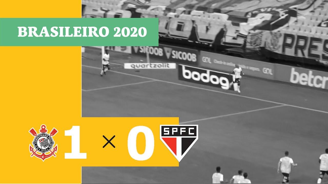 Download Gol do Corinthians! Otero chuta cruzado e abre o placar contra o São Paulo