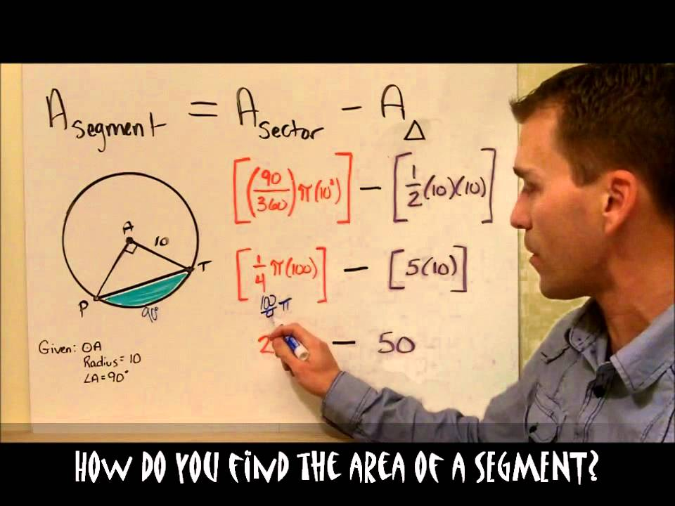 1162 how do you find the area of a segment youtube ccuart Gallery
