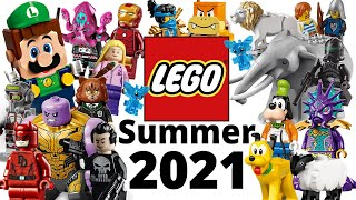 Top 25 Most Wanted LEGO Sets of Summer 2021!