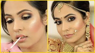 How To SMOKEY EYES | Indian BRIDAL/PARTY Makeup Tutorial | Shruti Arjun Anand