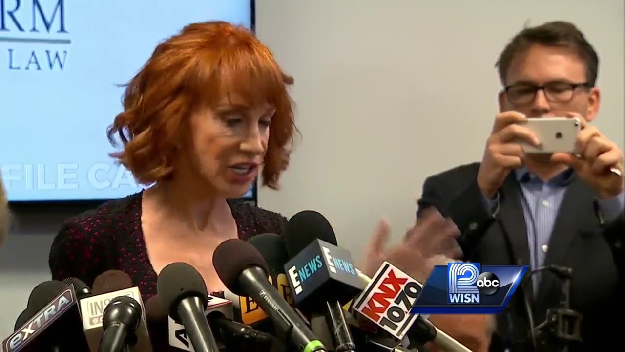 Kathy Griffin Says Trump 'Trying to Ruin My Life,' Career Over After Severed ...