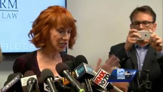 Kathy Griffin: Trump is 'trying to ruin my life'