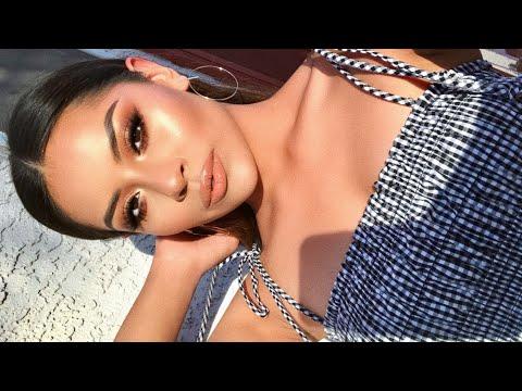 Glowy + Dewy Spring Makeup Tutorial   Sarahy Delarosa