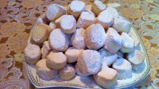 Печенье Тающий Снег / Песочное Печенье / Cookies Melting Snow / Быстрый Рецепт (Вкусно и Просто)